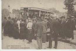 CP - LES NOUVEAUX AUTOBUS PARISIENS - 73 - COMPAGNIE GENERALE DES TRANSPORTS - D. R. - REPRODUCTION - Transporte Público