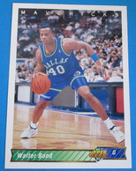 WALTER BOND   CARDS NBA FLEER 1992 N 131 - Trading Cards