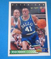 BRIAN HOWARD   CARDS NBA FLEER 1992 N 135 - Trading Cards