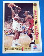 1992 NBA FINALS   CARDS NBA FLEER 1992 N 174 - Trading Cards
