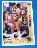 VLADE DIVAC   CARDS NBA FLEER 1992 N 186 - Altri