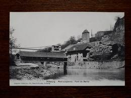 L17/240 Suisse. Fribourg. Pont Suspendu. Pont Du Berne - FR Fribourg