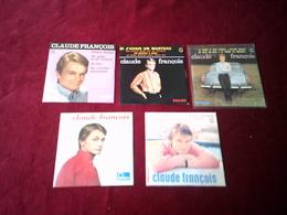 LOT DE 5 SINGLES DE COLLECTION DE CLAUDE  FRANCOIS    4  TITRES - Music & Instruments