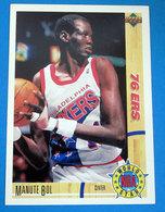 MANUTE BOL   CARDS NBA FLEER 1992 N 194 - Trading Cards