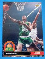 REGGIE LEWIS  CARDS NBA FLEER 1993 N 38 - Altri