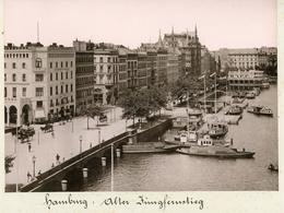Albumen Photograph - GERMANY Hamburg - 19th Century (27x21.5cm) - Photos