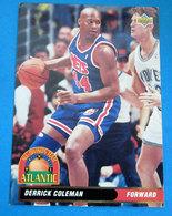 DERRICK COLEMAN  CARDS NBA FLEER 1993 N 36 - Trading Cards