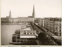 Albumen Photograph - GERMANY Hamburg - 19th Century (27x20.5cm) - Photos