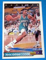 KENNY GATTISON  CARDS NBA FLEER 1993 N 109 - Trading Cards