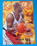 MARIO ELIE  CARDS NBA FLEER 1996 N 291 - Trading Cards