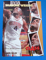 SHARONE WRIGHT  CARDS NBA FLEER 1996 N 449 - Trading Cards