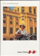 ÖSTERREICH - AUSTRIA - AUTRICHE  Werbung - Kultur Erlebnis , Nice Stamp, Sondermarke - Werbepostkarten