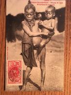 Afrique Occidentale, Dahomey, Fillettes Soussous, écrite En 1910, Timbre - Dahomey