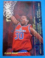 RASHEED WALLACE  CARDS NBA FLEER 1996 N 385 - Trading Cards