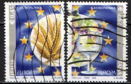 ITALIA - 2005 - EUROPA: GASTRONOMIA - USATI - 1946-.. République