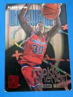 RASHEED WALLACE  CARDS NBA FLEER 1996 N 499 - Trading Cards