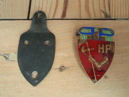 Ancien Insigne Police HP FRAISSE -D PARIS - Polizia