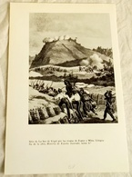 Reproduction - Site Of La Seo De Urgel By The Troops Of Espoz Y Mina / 22x14,5cm / 1965 - Otros