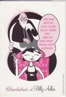 Werbung Für BUCHKALENDER Von Polly Adler, Journalistin - ÜBERLEBEN 2009  , Nice Stamp, Sondermarke - Werbepostkarten