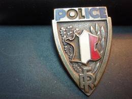 Ancien Insigne De Police FRAYSSE -DEMEY PARIS - Police & Gendarmerie
