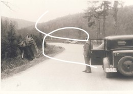 8 Bataille Des Ardennes. Chars Détruits Photographiés En 1946. Repro - 1939-45