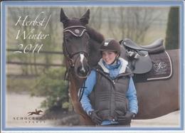 SCHOCKEMÖHLE Sports Werbung Advertise Für Pferd Und Reiter , Nice Stamp, Sondermarke - Werbepostkarten