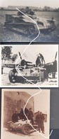 8 Armée Française Tracteur D'infanterie UE De Prise Dans La Wehrmacht - 1939-45