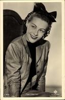 Cp Schauspielerin Ilse Werner, Portrait, Haarschleife, UFA Film A 3477 2 - Schauspieler