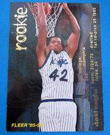 DAVID VAUGHN  CARDS NBA FLEER 1996 N 384 - Altri