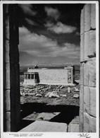 GRECIA - ATENE - ERECHTEINION - VIAGGIATA 1960 FRANCOBOLLO ASPORTATO - Grecia