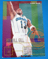 HENDALL GILL  CARDS NBA FLEER 1996 N 279 - Altri