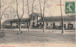 Hautes Pyrénées - LANNEMEZAN - La Gare - Animée - Lannemezan