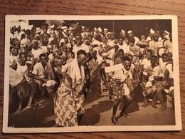 Cpa OUIDAH (Bénin, Dahomey) - Danseurs De Tam Tam - Benin