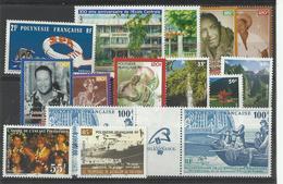 Polynésie, Lot De Timbres Poste Neufs ** Cote YT 386€50 - Polynésie Française