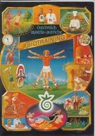 Werbung Advertise Publicité Für 17 X BIOTRAINING In Österreich , Nice Stamp, Sondermarke - Werbepostkarten