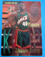 SHAWN KEMP NBA FLEER 1996 N 415 - Altri
