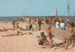 Postcard Lokken North Jutland Denmark Animated Beach Scene My Ref  B23533 - Denmark