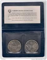 Yugoslavia 10 Dinara 1983. UNC KM#96 And KM#97.1  NERETVA AND SUTJESKA ,packed - Jugoslavia