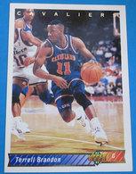 TERRELL BRANDON NBA SUPER DECK 1992 N 124 - Trading Cards