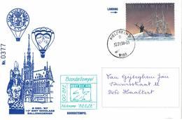Courrier Par Ballon (montgolfière). 1998. Sint-Niklaas =>Kieldrecht. Pilote: ?  Fête De La Saint-Nicolas. - Aéreo