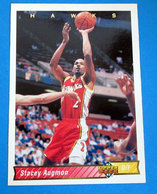 STACEY AUGMON NBA SUPER DECK 1993 N 91 - Trading Cards