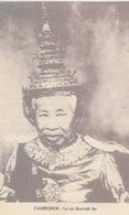 10-3---------------cambodge Le Roi Sisovath 1-tres Tres Rare--voir Recto Verso - Cambodge