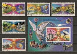 Guinée-Bissau 1977 - 100 Ans De Progrès Dans Les Télécommunications - SC 375/375D +  Bloc 375F - Guinée-Bissau