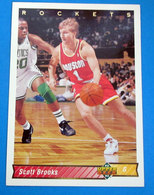 SCOTT BROOKS NBA SUPER DECK 1993 N 163 - Trading Cards