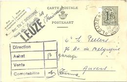 CARTE  POSTALE   1951  FORI  D'ARCHIVIO - Interi Postali