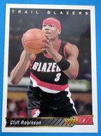 CLIFF ROBINSON NBA SUPER DECK 1993 N 232 - Altri