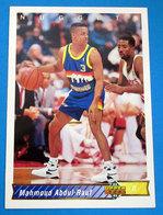 MAHMOUD ABDUL-RAUL NBA SUPER DECK 1993 N 140 - Trading Cards