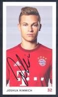 Germany2010s Card: Football Fussball Soccer Calcio: Bayern München: Joshua Kimmich Autograph Card - Clubs Mythiques