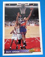 KEVIN JOHNSON NBA SUPER DECK 1993 N 228 - Trading Cards