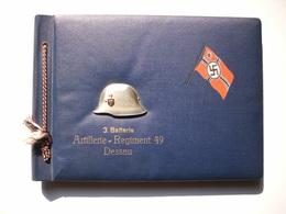Militaria 2. Weltkrieg Fotoalbum Eines Unteroffiziers Aus Der Zeit 1939-45. Gefallen Am 30 März 1945 In Gothafen. - 1939-45